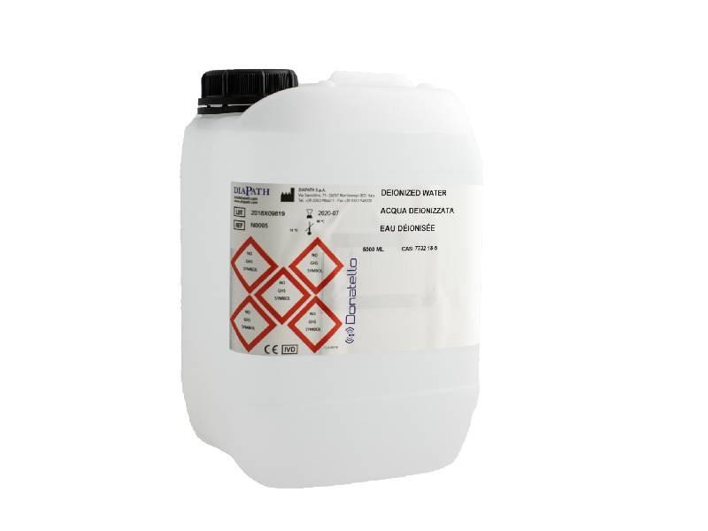 Deionized water 5 lt tank