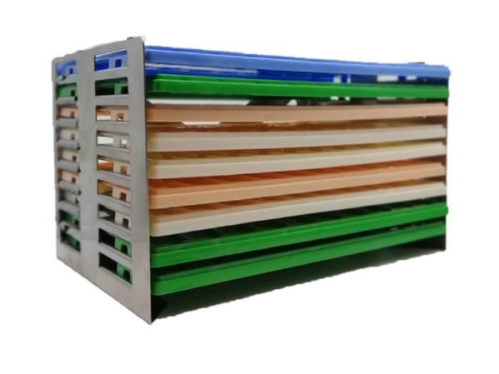 Slide tray holder