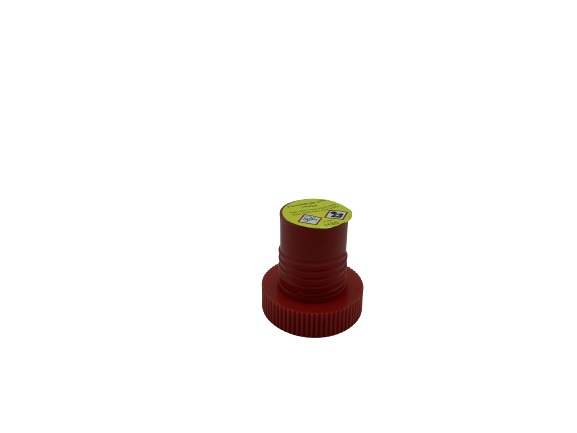 Safe Capsule - Red Safety Capsule, pre-filled with formalin and Marker