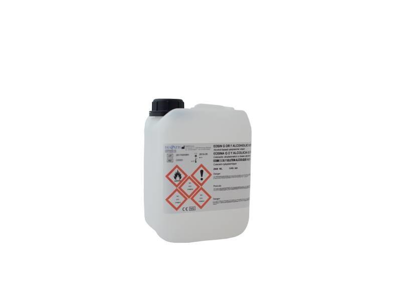 Eosina G o Y alcolica 0.5%  2,5 lt