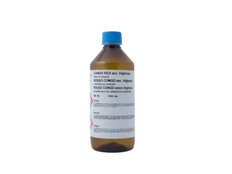 Eosin G or Y polychromatic 1% aqueous 500 ml