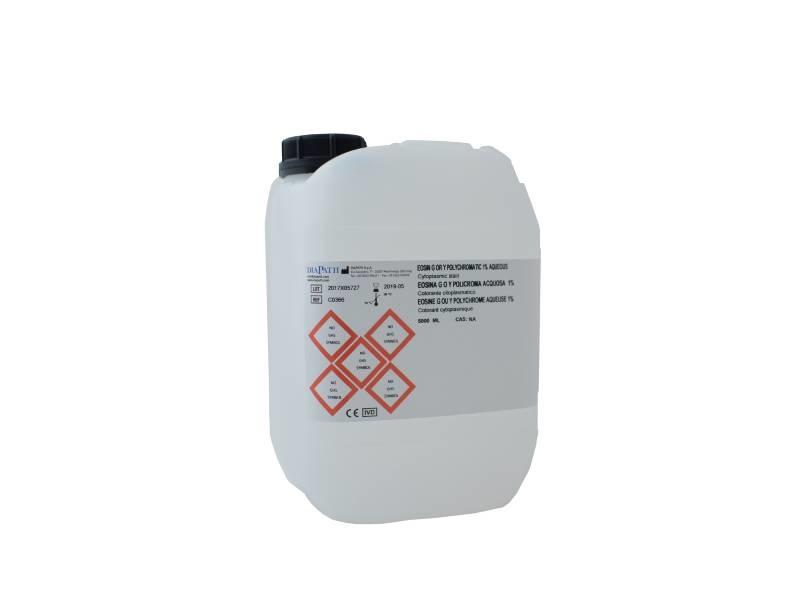 Eosin G or Y polychromatic 1% aqueous 5 lt