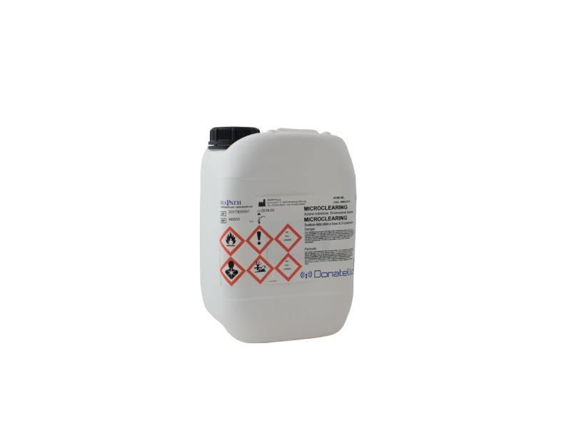 Microclearing tank