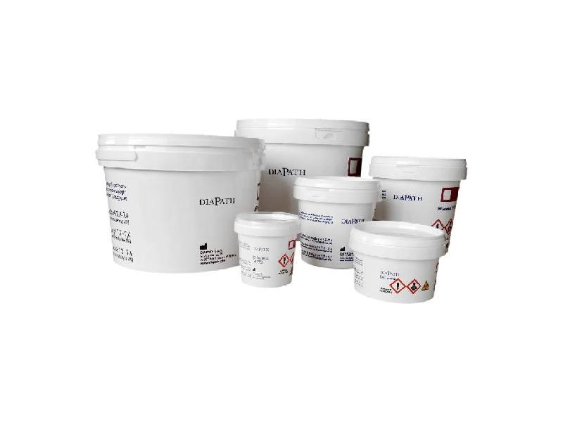 Pre-fille containers with 10% neutral buffered formalin, ready to use