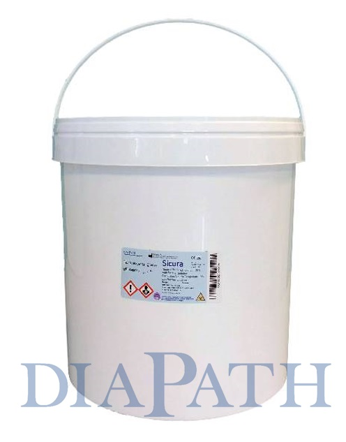 Sicura, container pre-filled with formalin and Barrier Solution 11000 ml