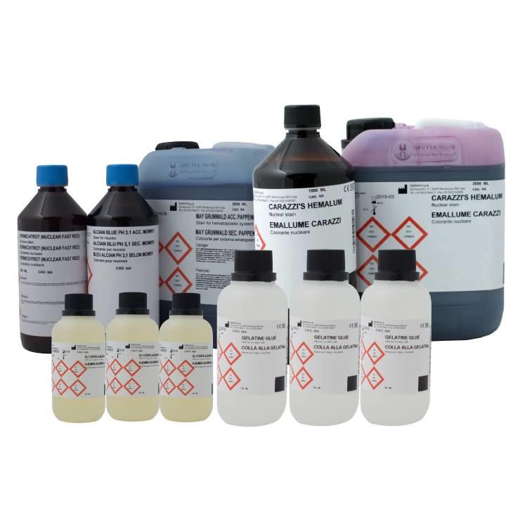 Ematossiline per colorazione vetrini